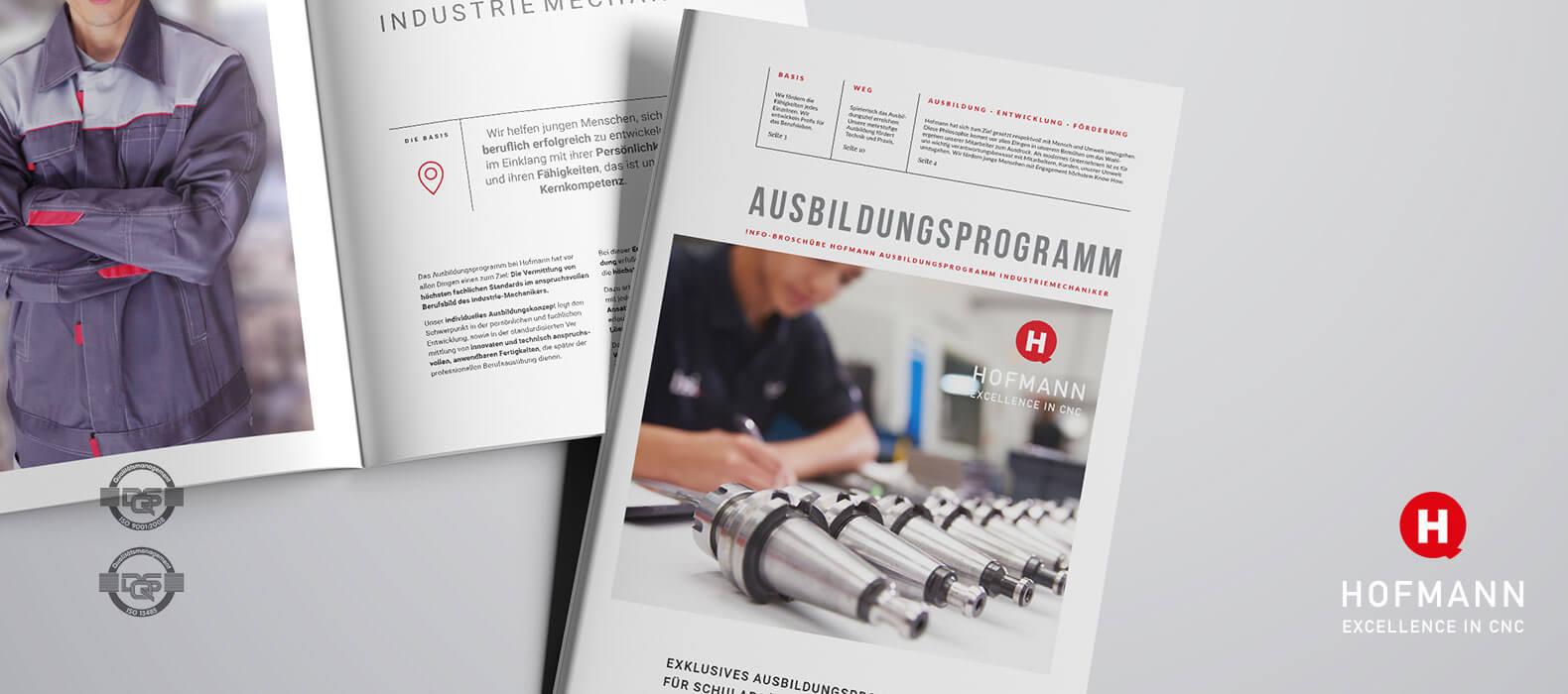 Hofmann CNC Ausbildungsprogramm