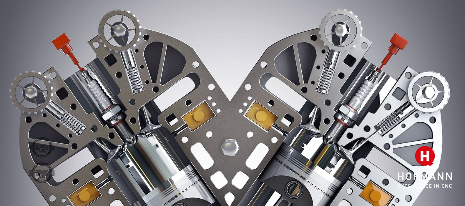 Hofmann CNC Baugruppen Montage