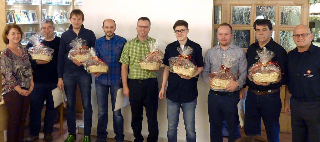 Hofmann CNC · ausgezeichnete Mitarbeiter 2017