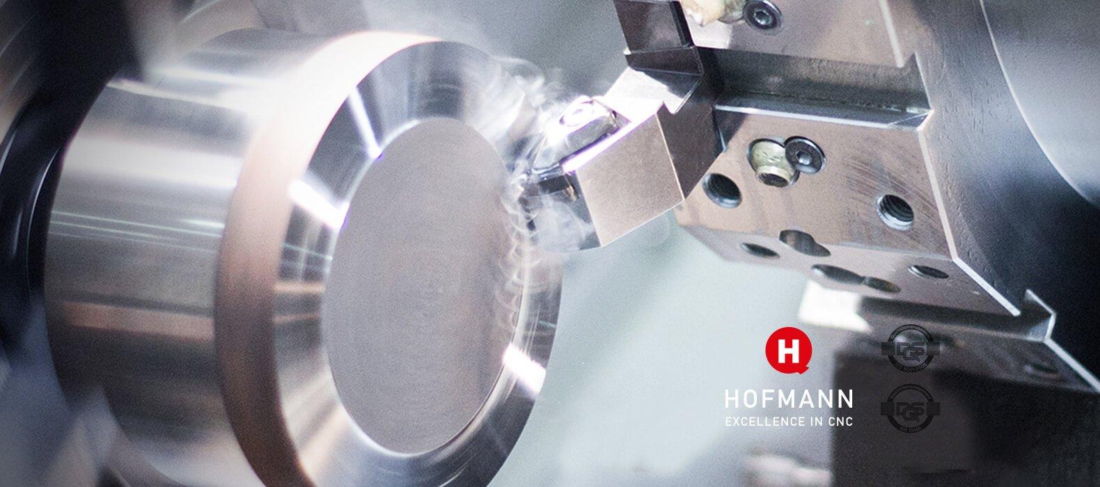 Hofmann CNC · Titanbearbeitung · Automotive