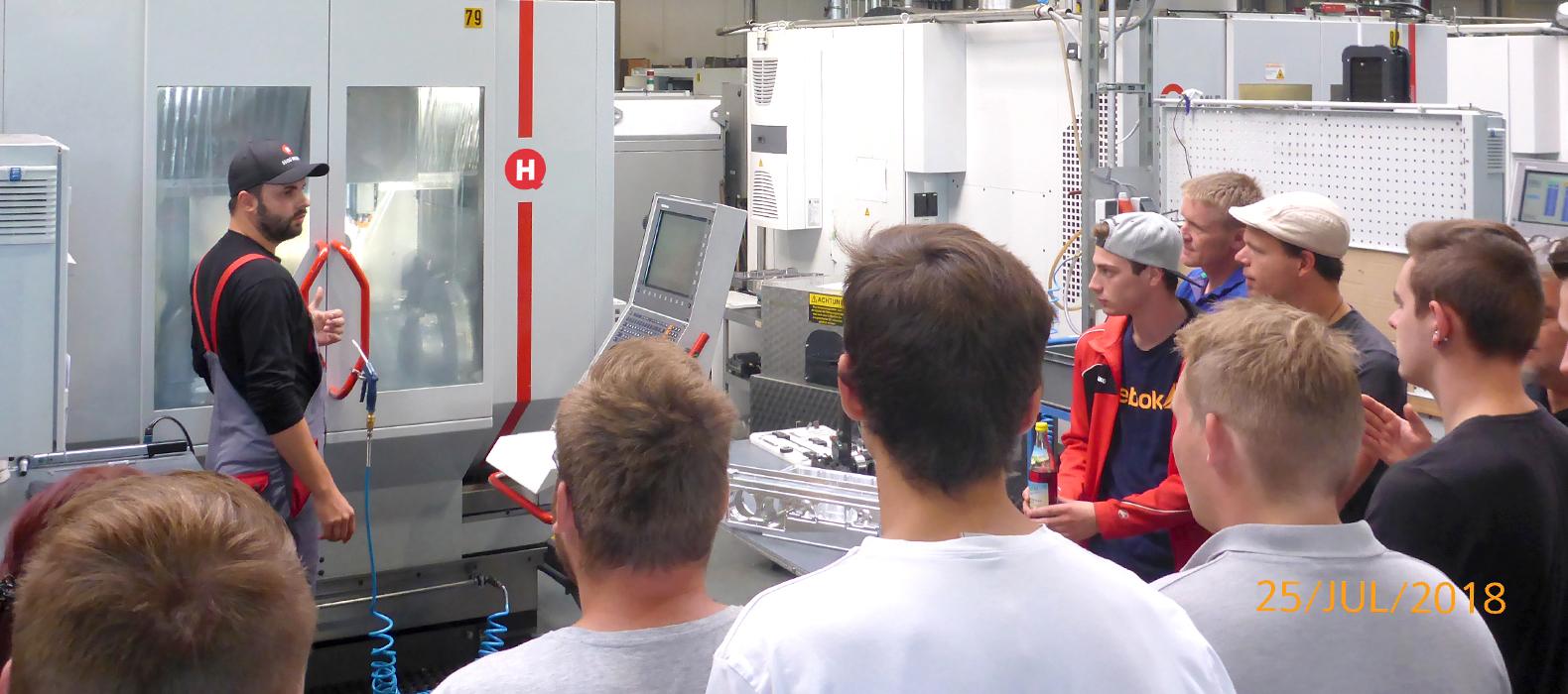 Hofmann CNC Berufschule Forchheim Industriemechaniker