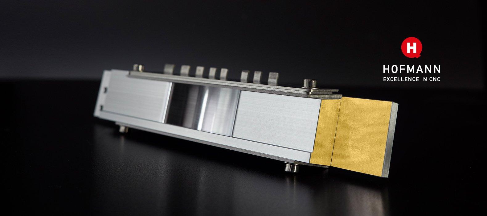 Wolfram kleben Medizintechnik · Hofmann CNC