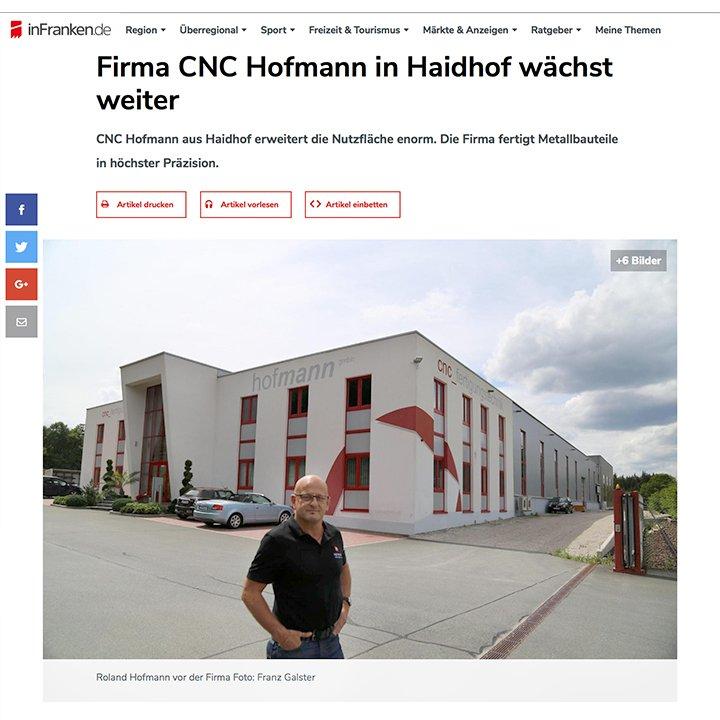 Erweiterungsbau · Hofmann CNC
