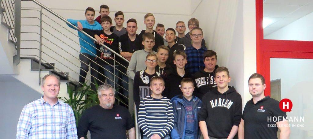 Hofmann CNC 9. Klasse Mittelschule Gräfenberg Technikerklasse
