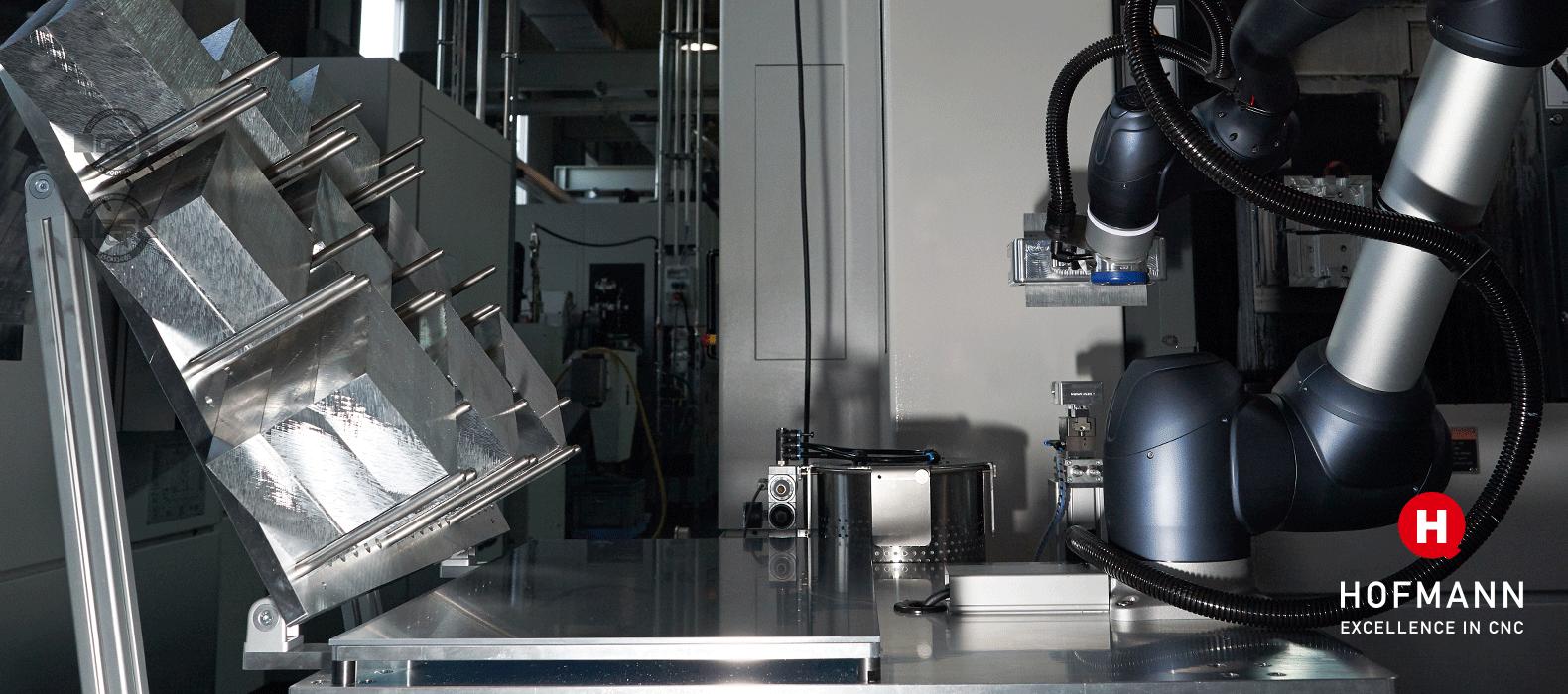 Hofmann CNC · CNC-Roboterautomatisierung