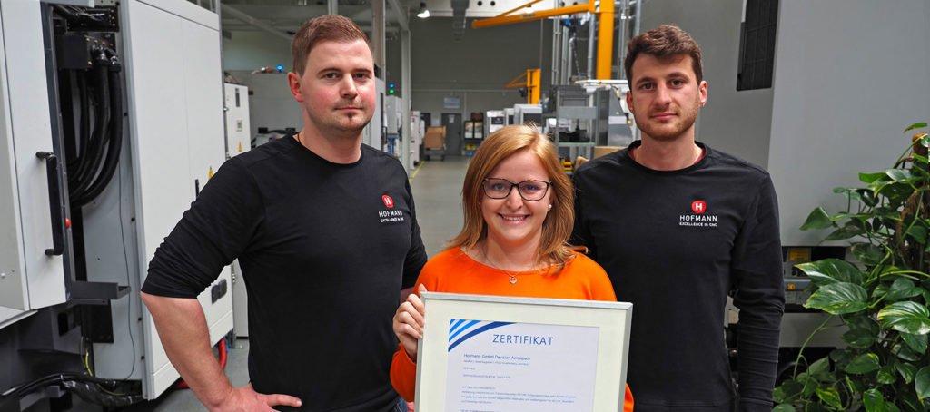 Hofmann CNC · Zertifizierung Luftfahrt