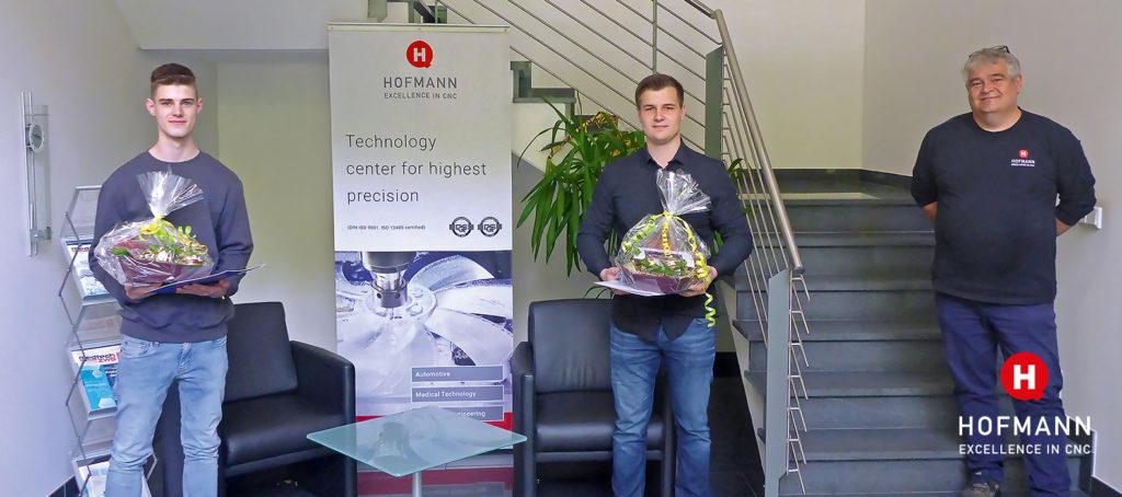 Hofmann CNC · Ausgezeichnet für hervorragende Leistungen